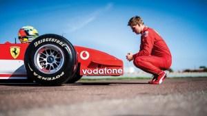 Emotionant! Mick Schumacher, la volanul unui monopost pilotat de tatal sau, in 2002