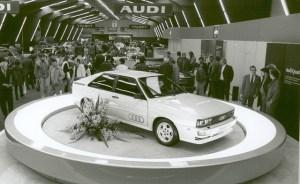 Audi sărbătorește 40 de ani de Quattro