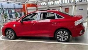 Primele imagini cu noul Audi A3 sedan
