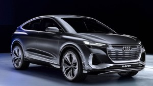 Audi Q4 Sportback e-tron Concept anunță viitorul SUV coupe compact 100% electric