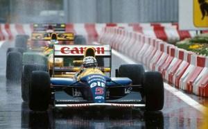 Sebastian Vettel a cumpărat un monopost Williams FW14B pilotat de Nigel Mansell în 1992