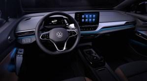 Volkswagen ID.4, primele imagini cu interiorul