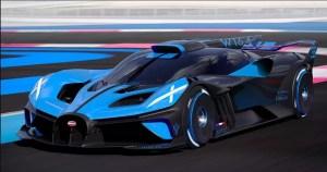 Bugatti la extrem: Bolide