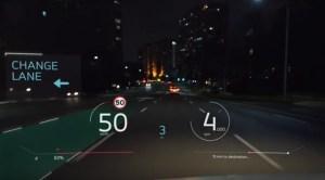 Panasonic este pe cale să lanseze un head up display cu realitate augmentată
