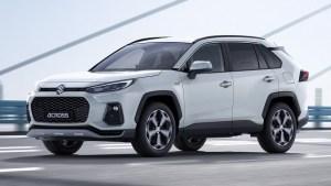 """Suzuki Across, încă o """"clonă"""" lansată în cadrul parteneriatului cu Toyota"""