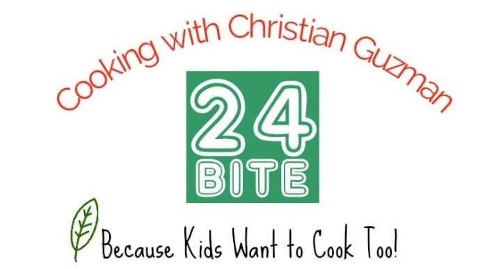 24Bite Recipes by Christian Guzman Logo