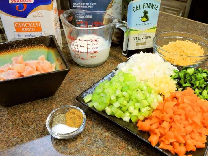 24Bite Recipe: Creamy Chicken Soup with Mexican Green Chiles  Recipe by Christian Guzman