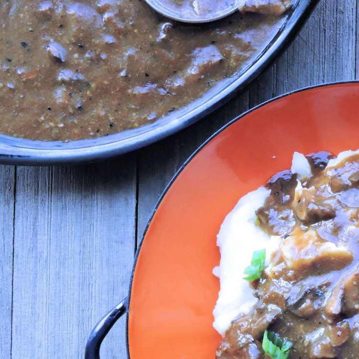 24Bite Recipe: One Skillet Country Cube Steaks with Mushroom Gravy Recipe by Christian Guzman