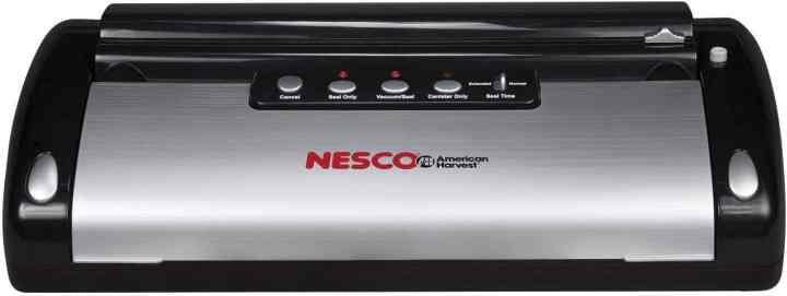 Nesco Vacuum Sealer for processing raw chicken