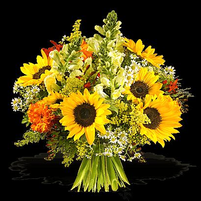 Blumenstrau mit gelben Sommerblumen Sunny Day  24blooms