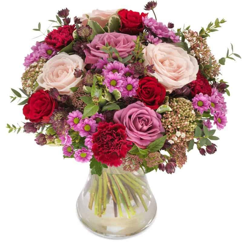 10 Shops vergleichen  Blumenversand 24blooms  Blumen
