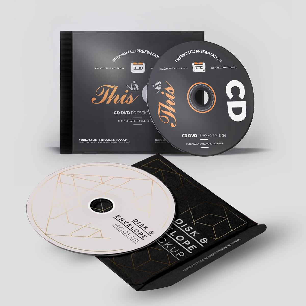CD sticker printing
