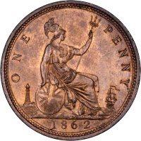 1862 Pennies
