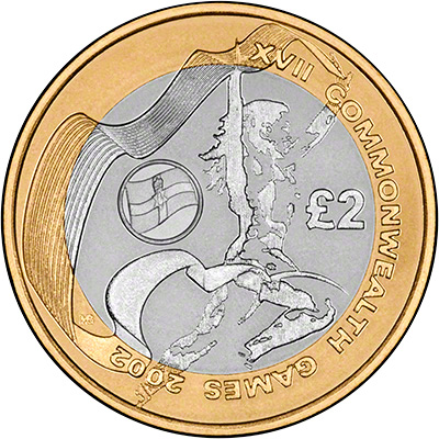 Commonwealth N. Ireland £2 Coin, 2002