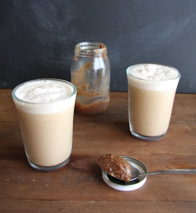 Skinny Caramel Frappuccino // 24 Carrot Life #coffee #sugarfree