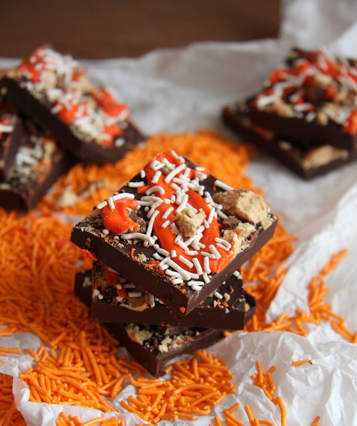 Dark Chocolate Halloween Quest Cup Bark I 24 Carrot Life