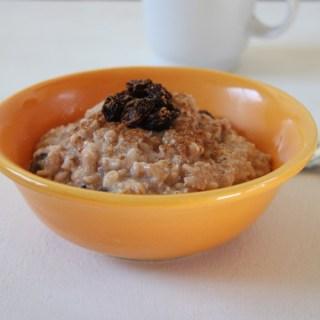 Cinnamon Raisin Protein Oatmeal