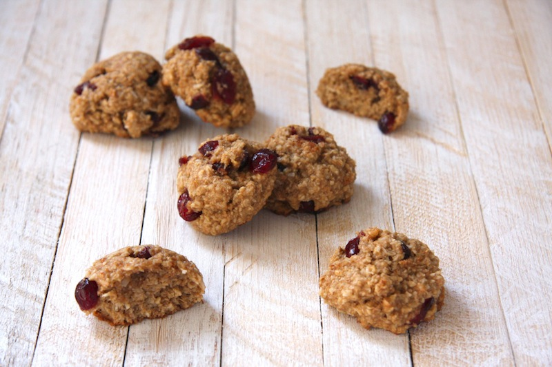 Cranberry Coconut Quinoa Breakfast Cookies I 24 Carrot Life