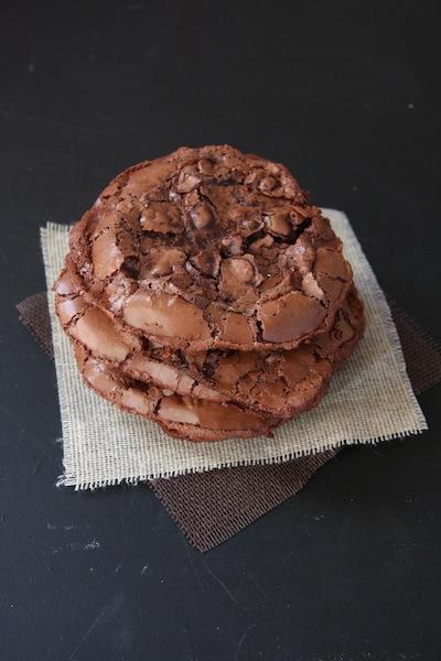 Flourless Triple Chocolate Cookies I 24 Carrot Life