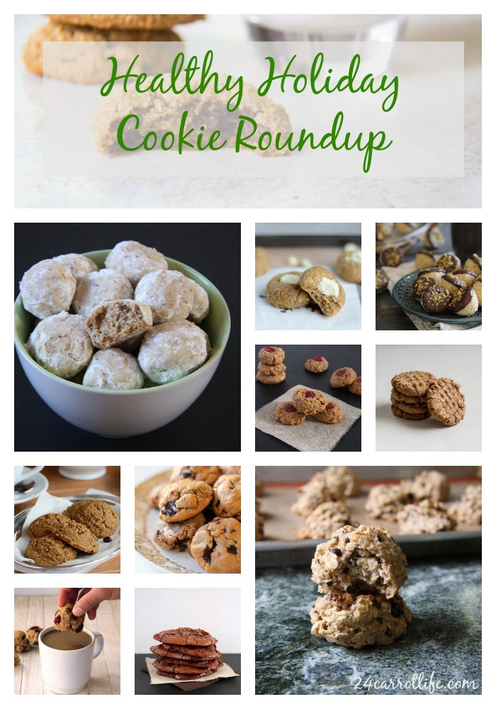 Healthy Holiday Cookie Roundup I 24 Carrot Life