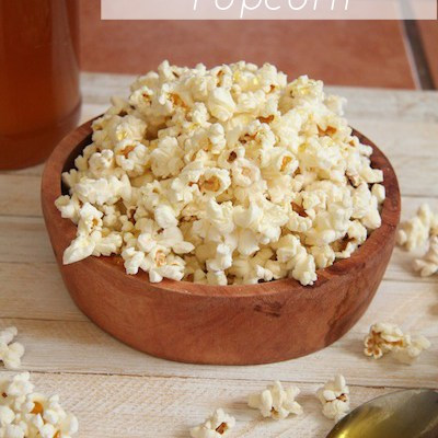 Sea Salt Honey Coconut Popcorn