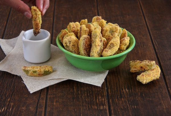 Fried Green Tomato Sticks I 24 Carrot Life