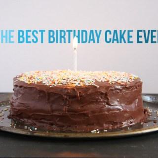 The Best Birthday Cake Ever to Celebrate Two Birthdays