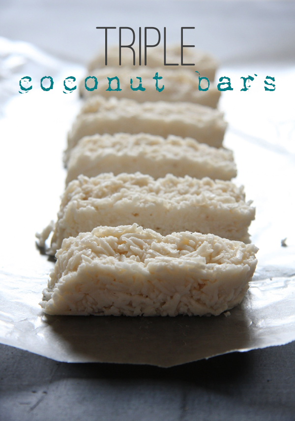 Triple Coconut Bars I 24 Carrot Life