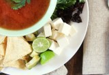 Super Simple Tortilla Soup I 24 Carrot Life #mexican