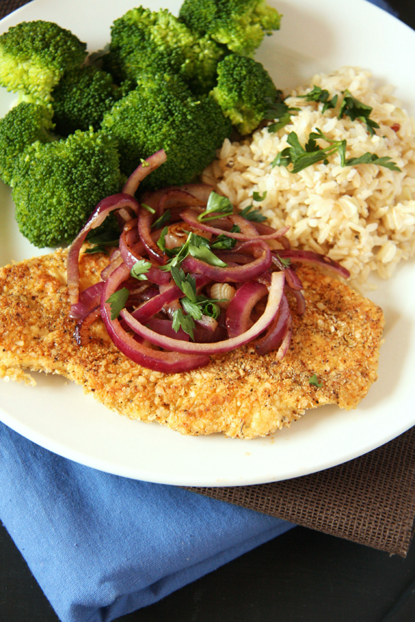 Spicy Quinoa Chicken Milanese & A Giveaway I 24 Carrot Life