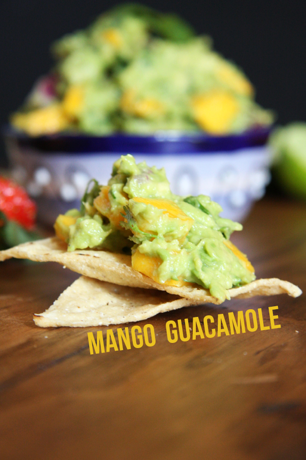 Guacamole Two Ways: Strawberry Jalapeño and Mango I 24 Carrot Life