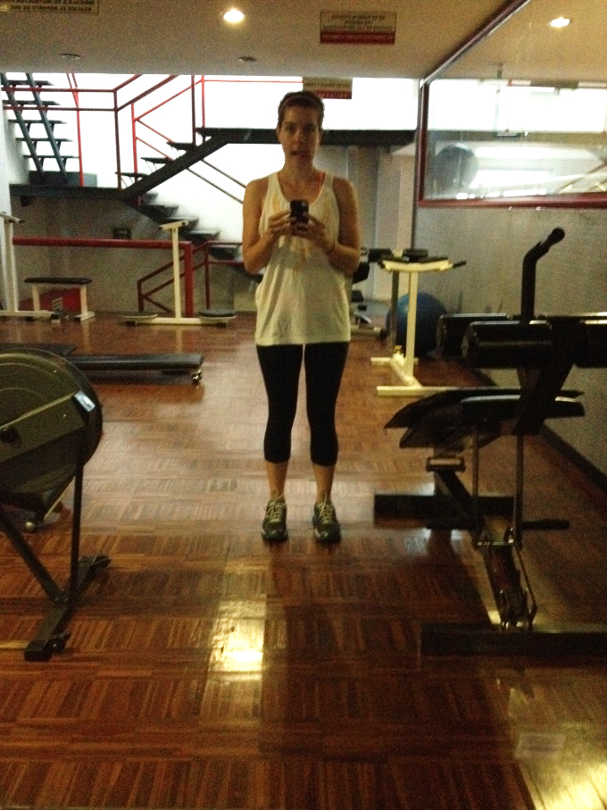 Gym Selfie // 24 Carrot Life