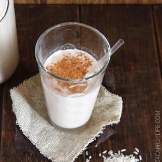 Horchata + Horchata Iced Latte