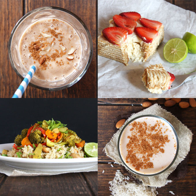 May Favorite Recipes // 24 Carrot Life #mexican #healthy #smoothies