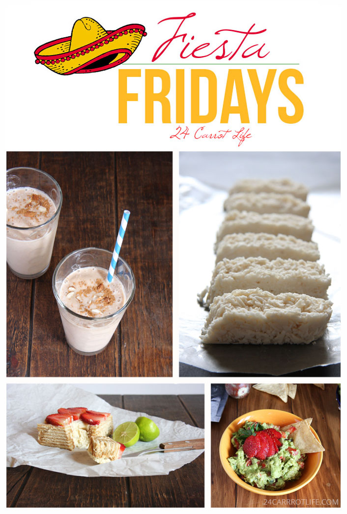 Fiesta Friday Roundup // 24 Carrot Life #mexican #healthy