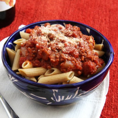 Turkey Bolognese Sauce {Recipe Redux}