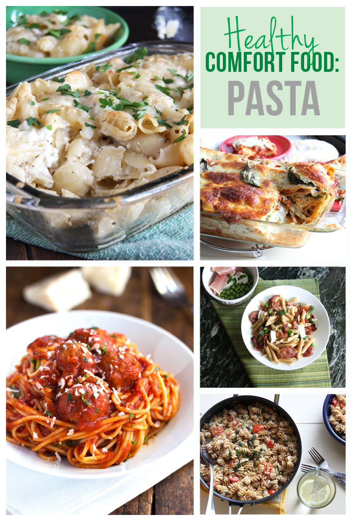 Healthy Comfort Food: 12 Delicious Pasta Dishes // 24 Carrot Life #pasta #healthy #comfortfood