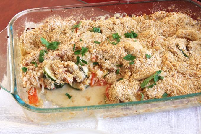 Vegetable Gratin // 24 Carrot Life #reciperedux #ad #healthy
