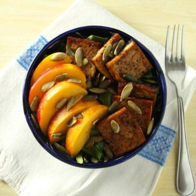 Balsamic Baked Tofu