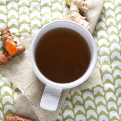 Warming Ginger Turmeric Tea