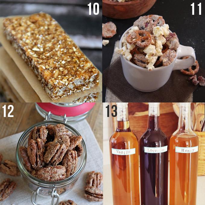Homemade Food Gifts // 24 Carrot Life #homemade #holidays #foodie