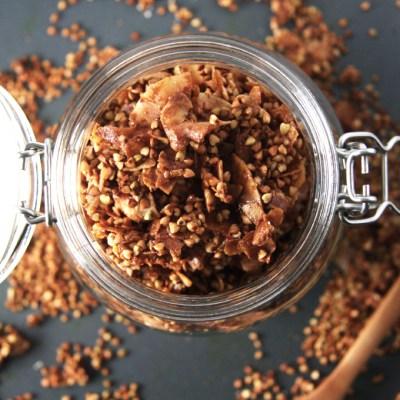 Coconut Buckwheat Granola (Grain Free)