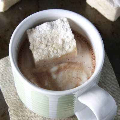 Maple Vanilla Bean Marshmallows