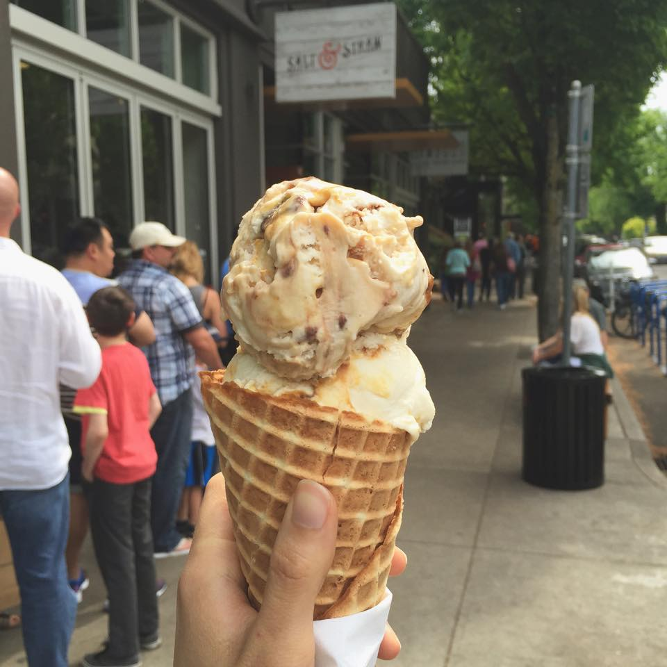 Portland Eats - Salt & Straw // 24 Carrot Life