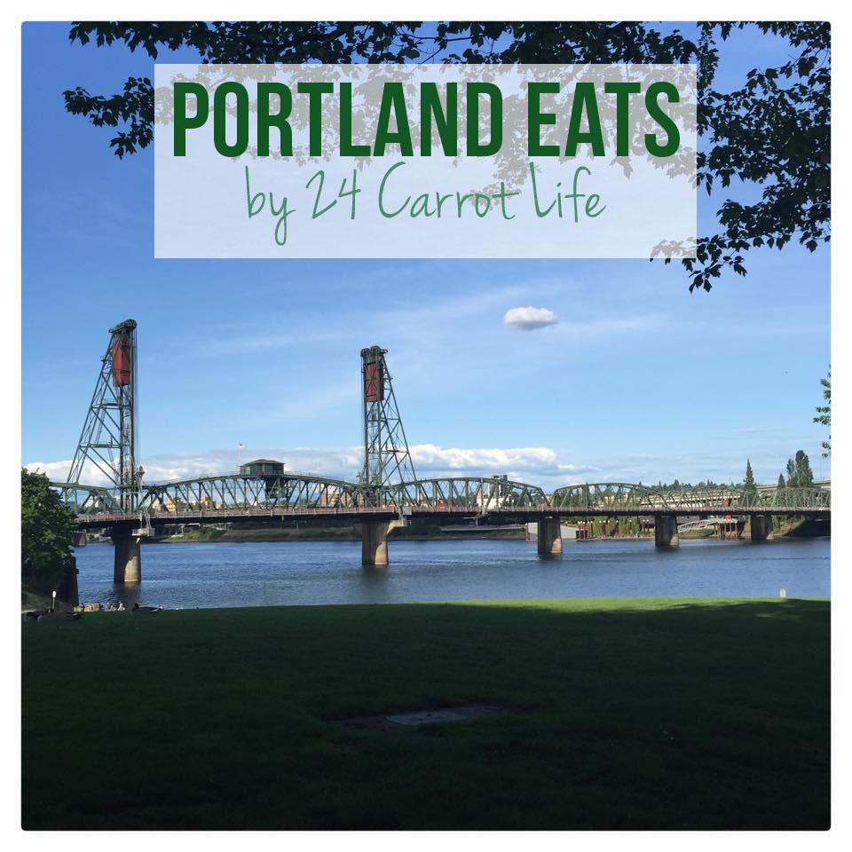 Portland Eats // 24 Carrot Life