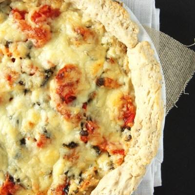Cheddar Tomato Pie