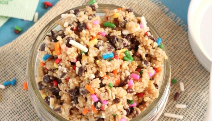Healthy Cookie Dough {Vegan, Raw, Gluten Free}