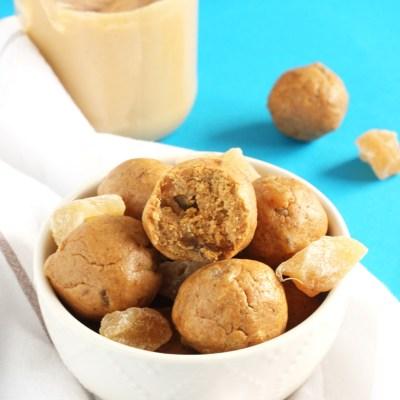 Gingersnap Cookie Energy Bites