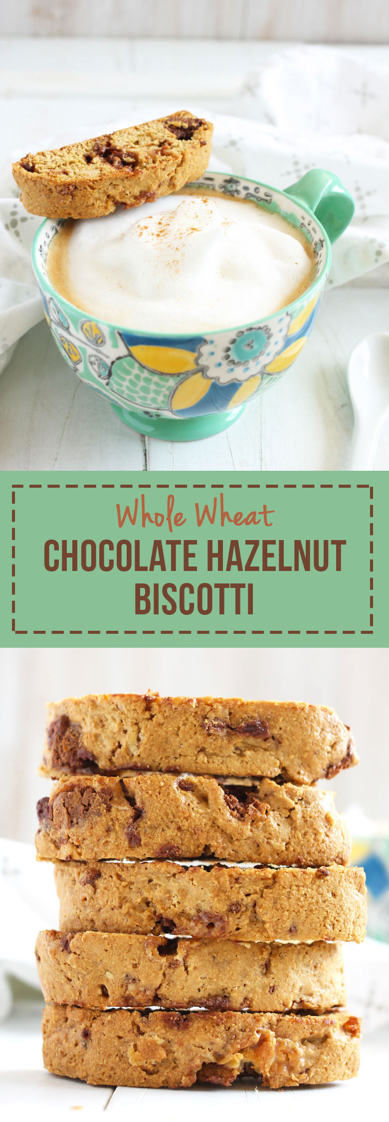 Whole Wheat Chocolate Hazelnut Biscotti // @24carrotlife #sponsored #JoinTheTable #Perugina @colavitaevoo