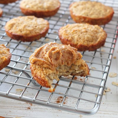 Oatmeal Apple Muffin Tops